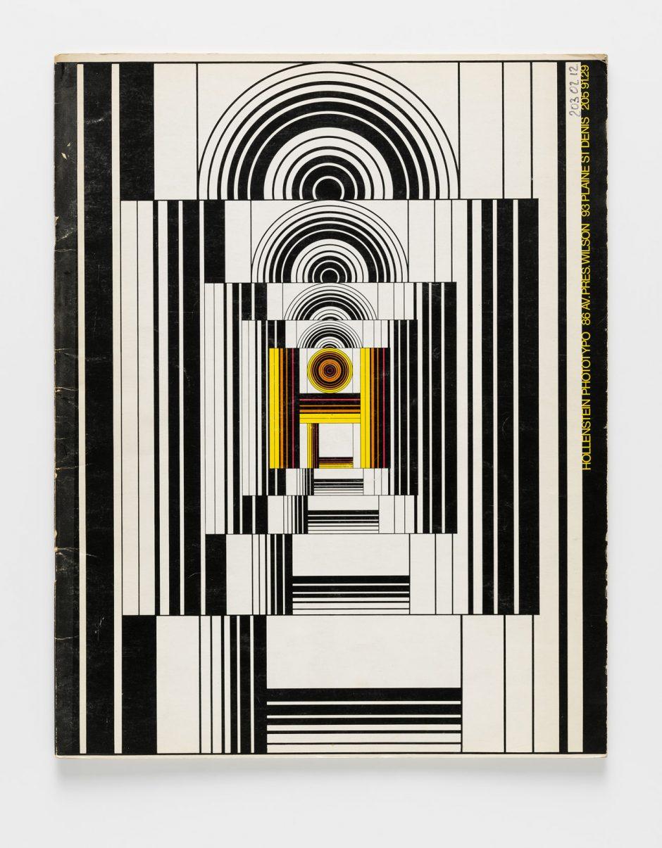 Albert Hollenstein, Hollenstein Phototypo, Schriftmusterheft, 1971, Museum für Gestaltung Zürich, Grafiksammlung