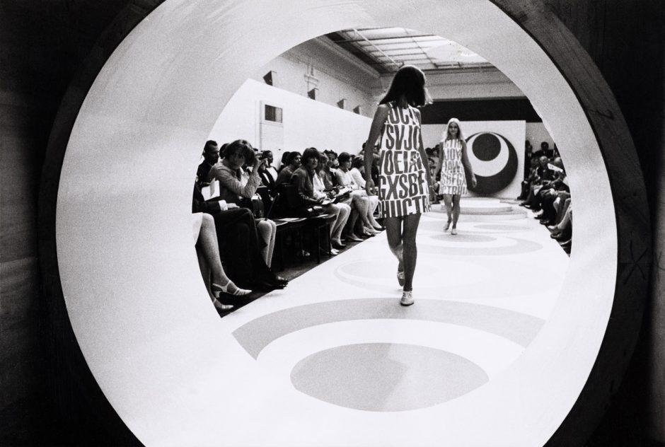 Fred Rawyler, Modeschau der Kollektion Indreco, Sommer 1967,Museum für Gestaltung Zürich, Grafiksammlung
