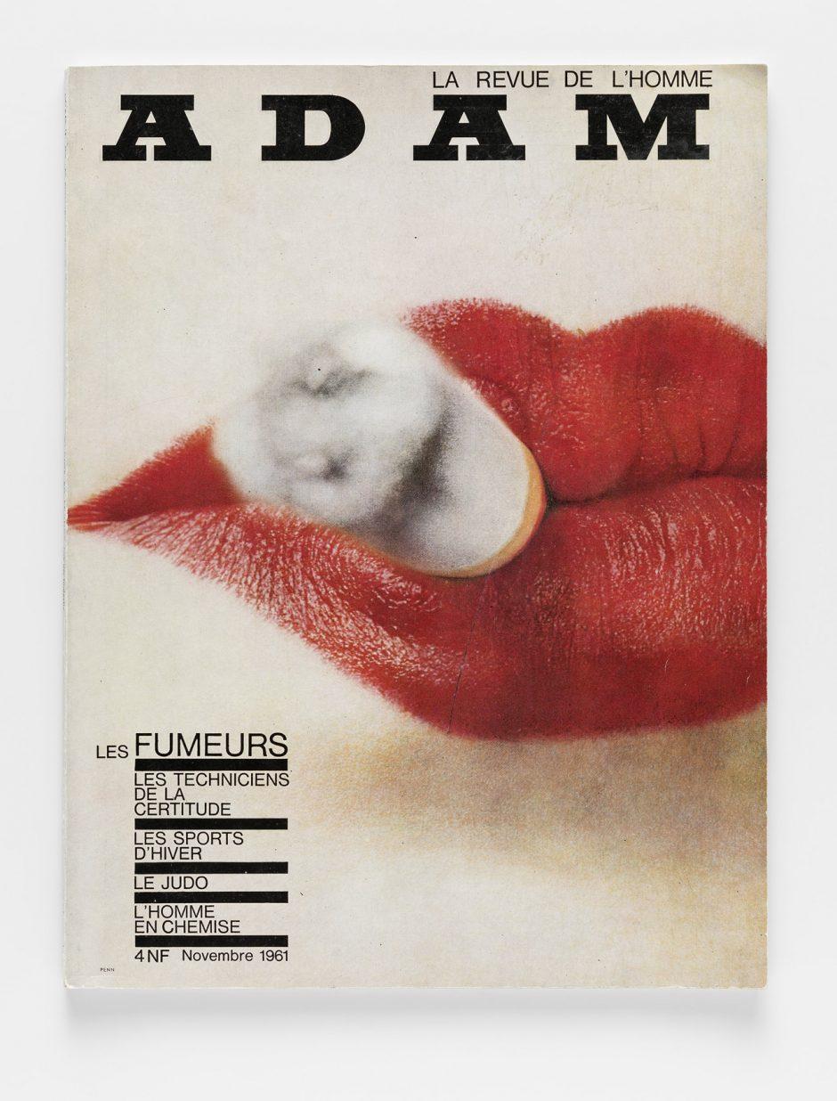 Friedrich Schrag (Art Director), Irving Penn (Foto), Zeitschriftenumschlag, Adam. La re-vue de l'homme No 268, 1961, Museum für Gestaltung Zürich, Grafiksammlung