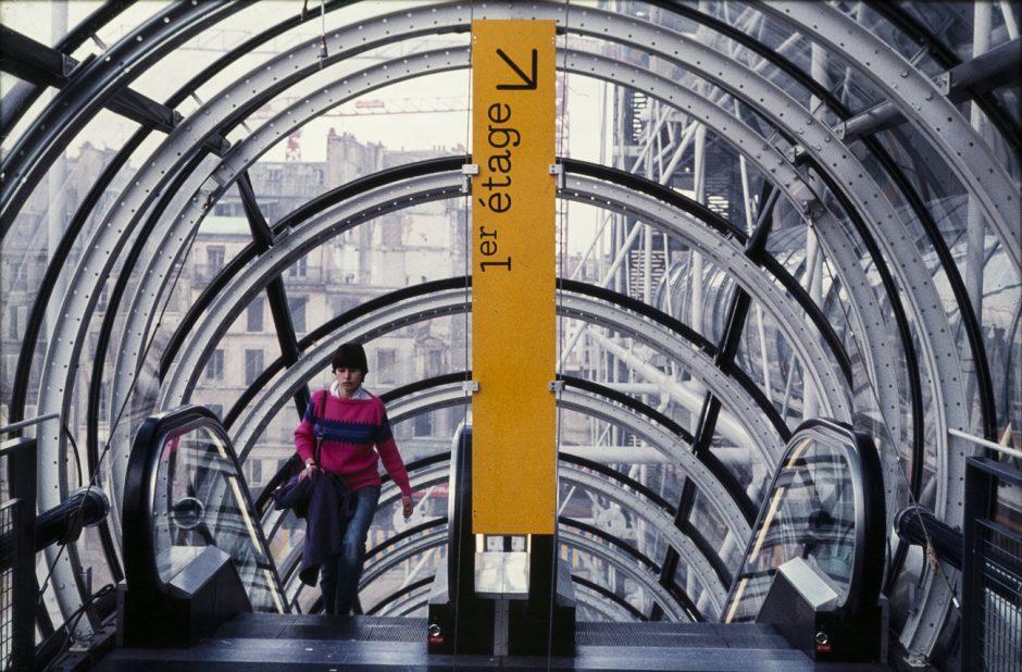 Visual Design Association, Hiestand & Associés, Signaletik Centre Georges Pompidou, 1977, Museum für Gestaltung Zürich, Grafiksammlung