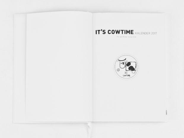 it's cowtime Kalender 2017
