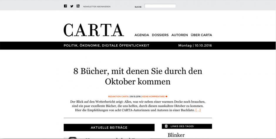 Gold: Carta
