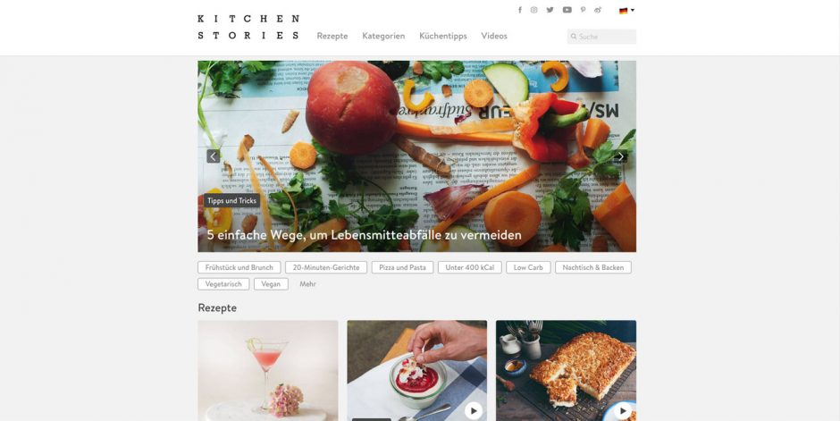 Silber: Kitchen Stories, AJNS New Media