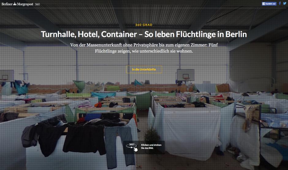 Silber: Flüchtlinge in Berlin, Berliner Morgenpost