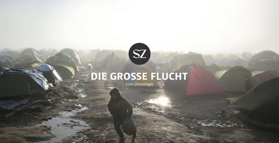Bronze: Die große Flucht, Süddeutsche Zeitung