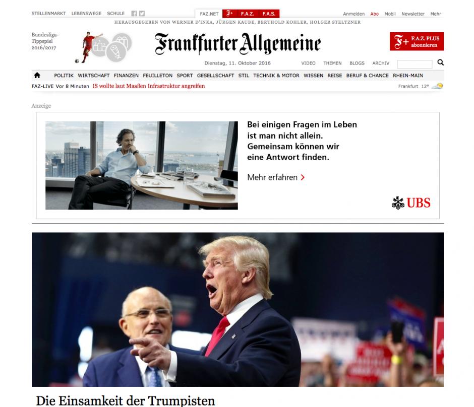 Gold: faz.net, Frankfurter Allgemeine Zeitung