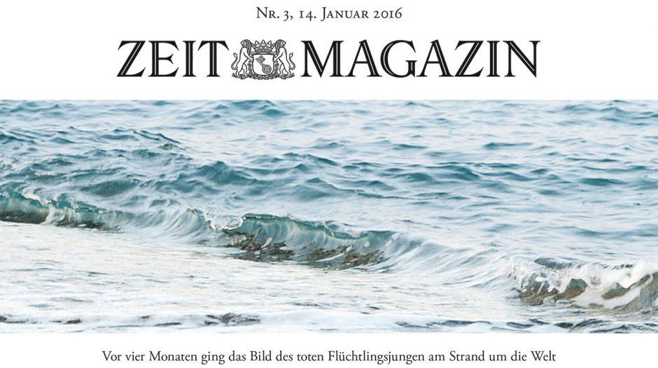 Gold: »Ohne ihn«, Zeit Magazin