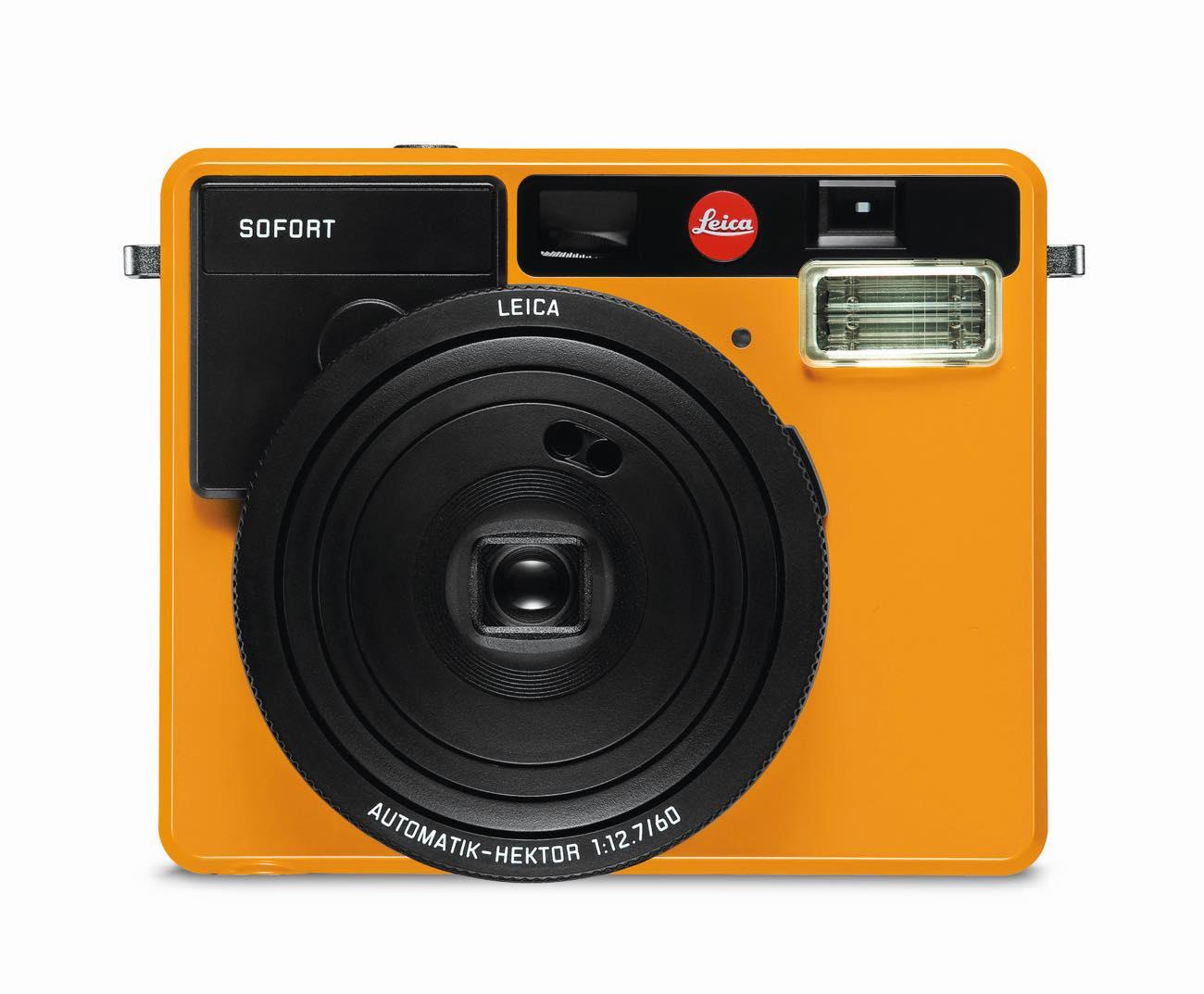 Leica Sofort_Orange_front-on