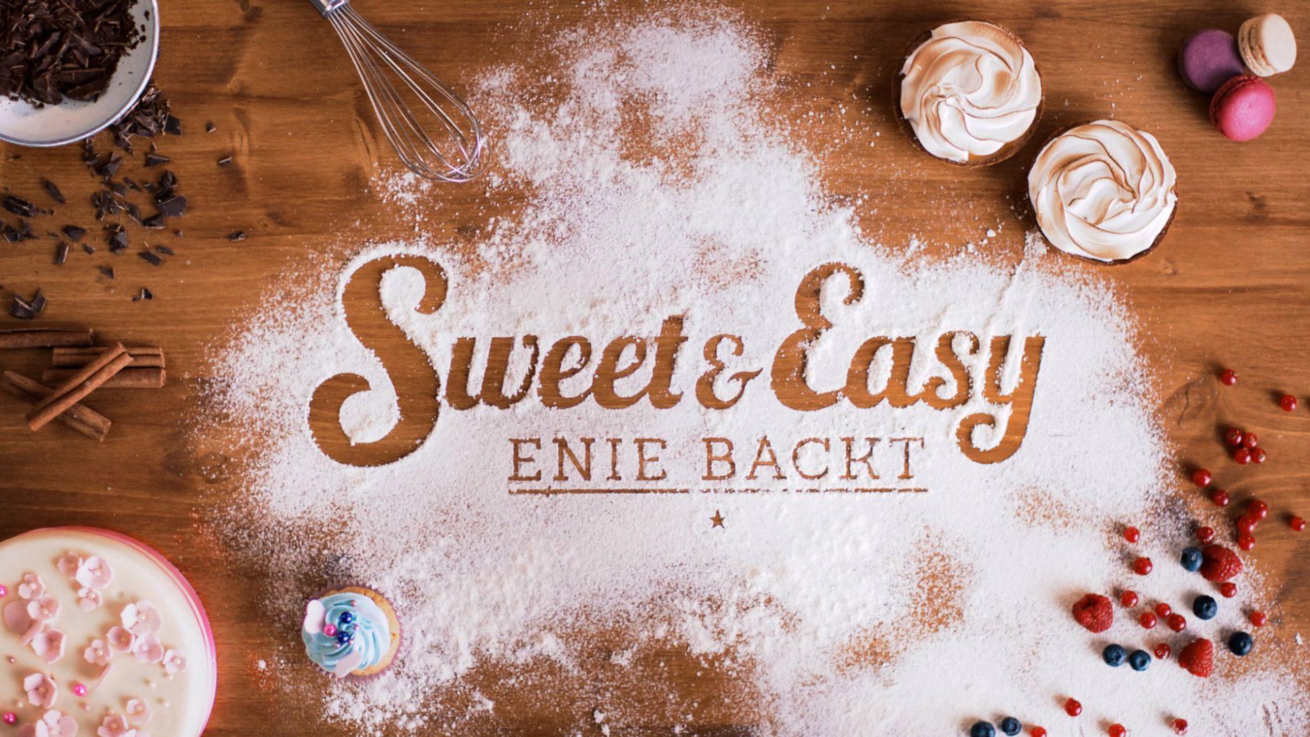 Sweet & Easy kommt auch das Sendungsdesign daher: von verspielter Typo über Set-Design und Outfits bis hin zu den Back-Ergebnissen