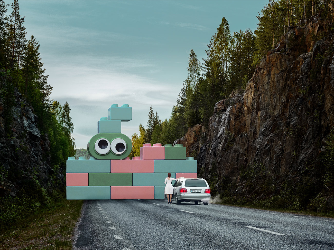 Aus der Reihe ARTandBrand von Platnum: Stefan Ruhmke für Lego