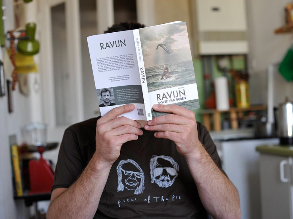 RAVIJN (Roman):  Handmade Collage used for the cover of Jasper van Buren's debut Novel »Ravijn«. Design by Shop Around