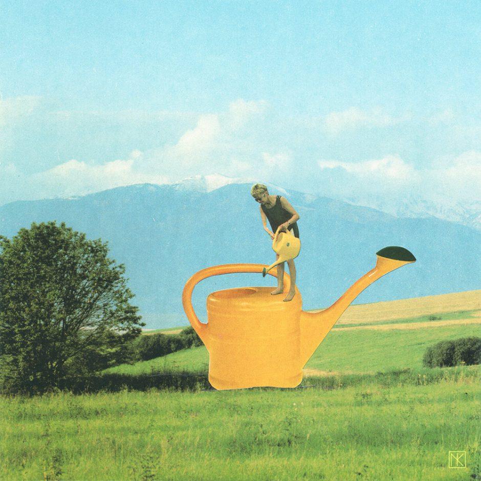 Watering the Wateringcan: Handgemachte Collage 2014