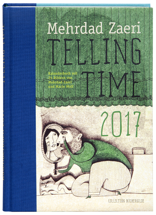 Design_Kalender_Zaeri_Mehrdad_Wolf_Marie_Telling Time_Kalenderbuch