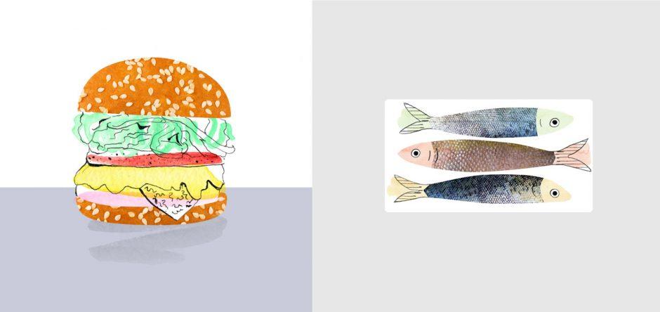 Illustration – Burger