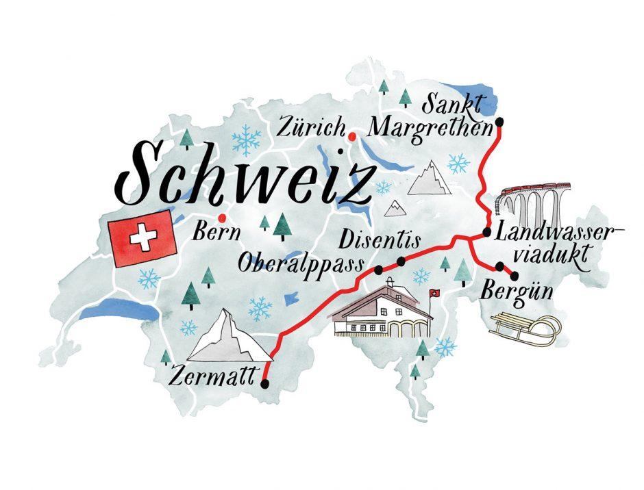 Illustration – Schweiz