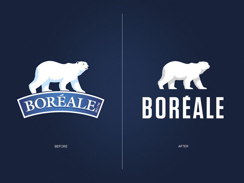 Das alte Logo (links) und das neue Logo (rechts)