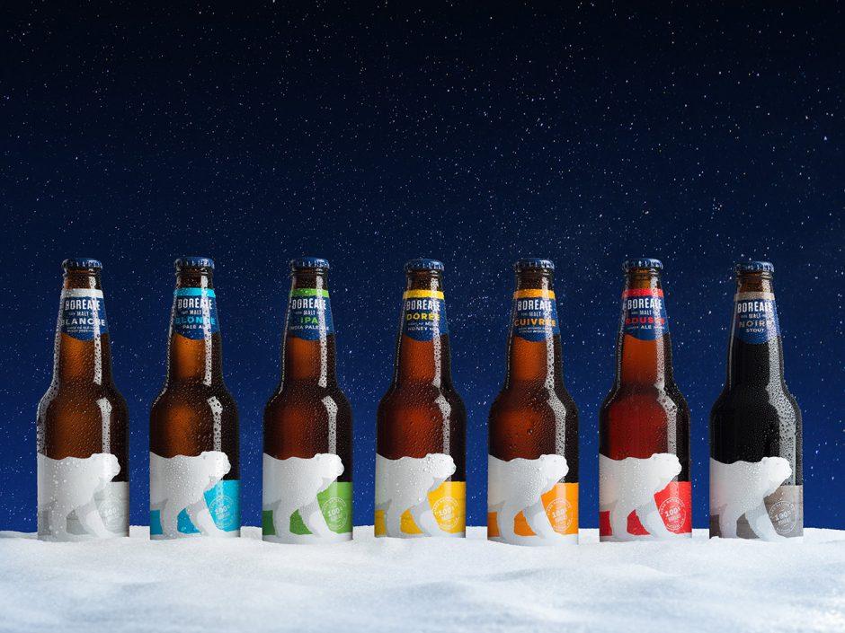 Packaging: Bierflaschen für die unterschiedlichen Sorten