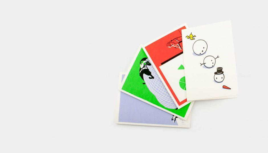 Grußkarten 4er Set