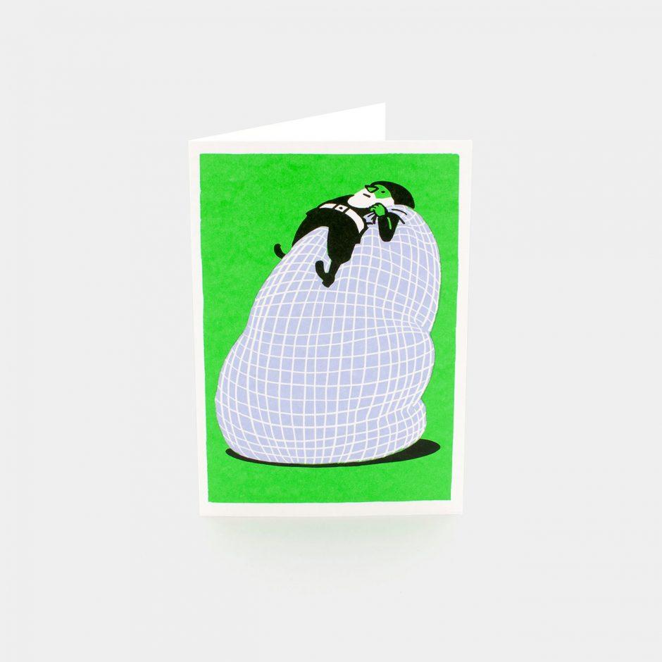 Grußkarte: Santa's Bag