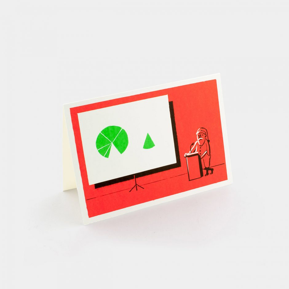 Grußkarte: Slideshow Santa