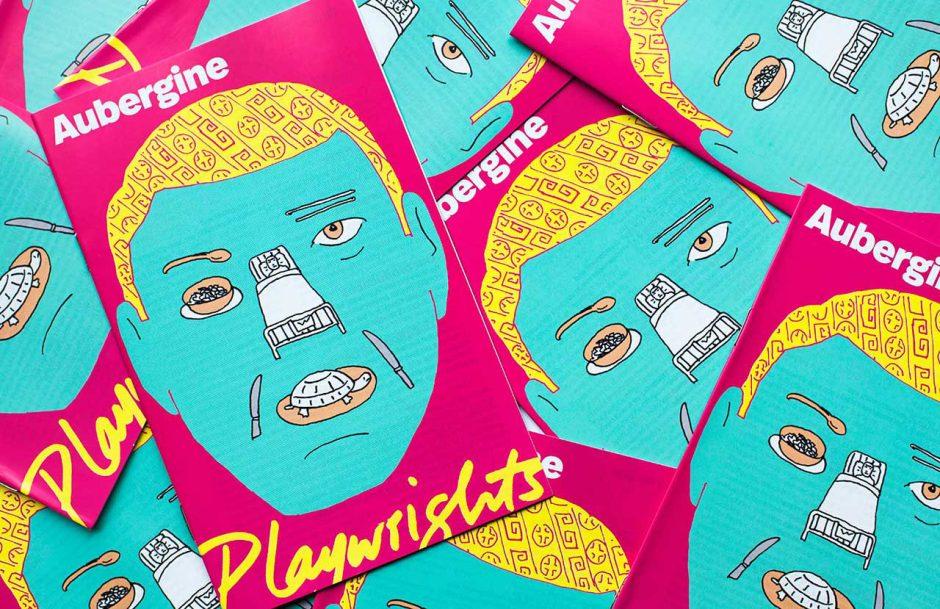 Programm für »Aubergine« in Zusammenarbeit mit dem Illustrator Seymour Chwast