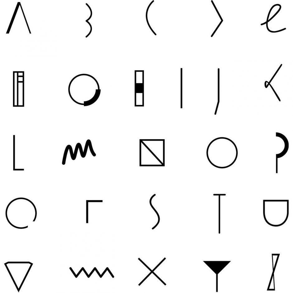 The Monogram - Das komplette Alphabet