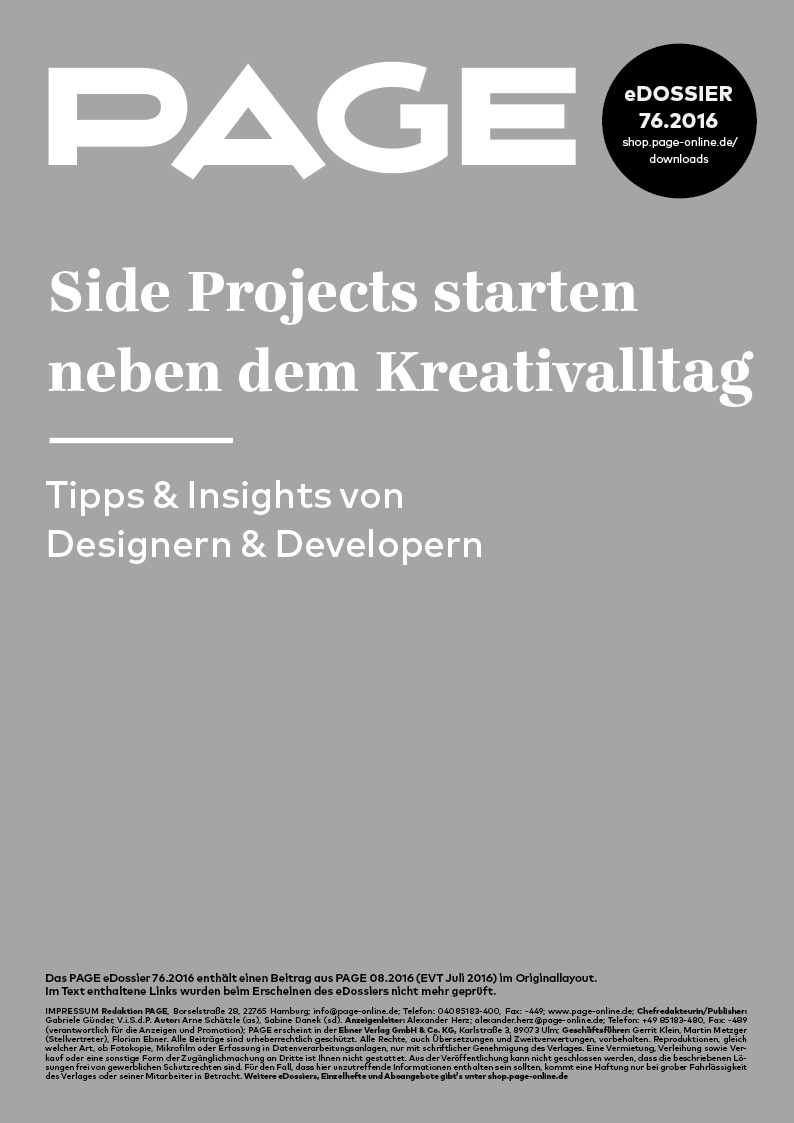 Titel_eDossier_Side_Projects