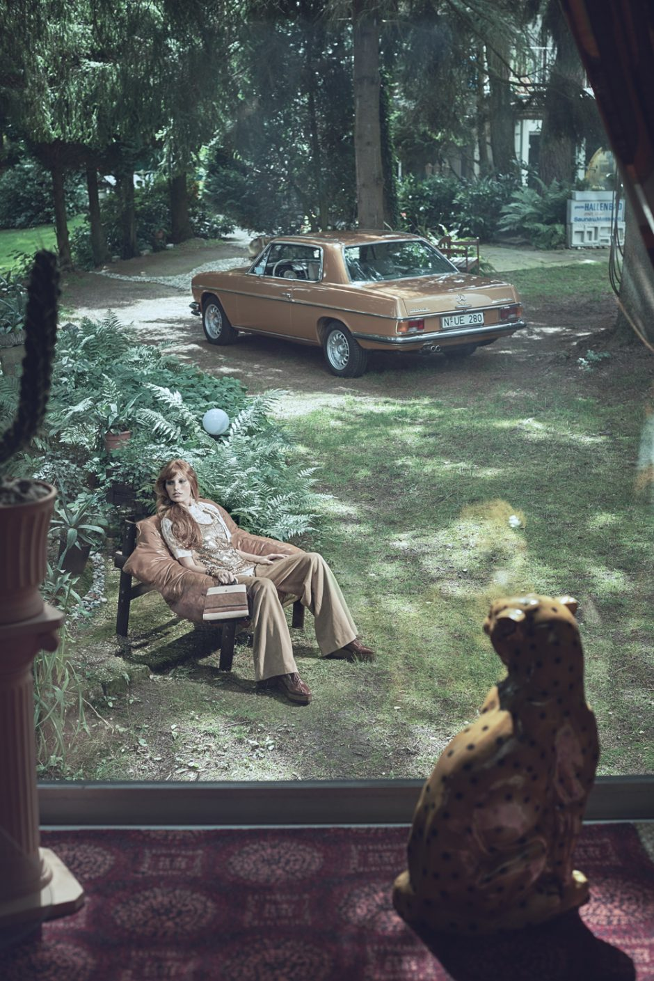 Im Parkhotel 1970 in Michelstadt fotografierte Benjamin Pichelmann diese Fotostrecke für das Magazin »Mercedes-Benz Classic«