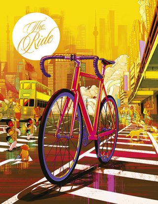 Best Use of Illustration: The Ride Journal, London (lobende Erwähnung)