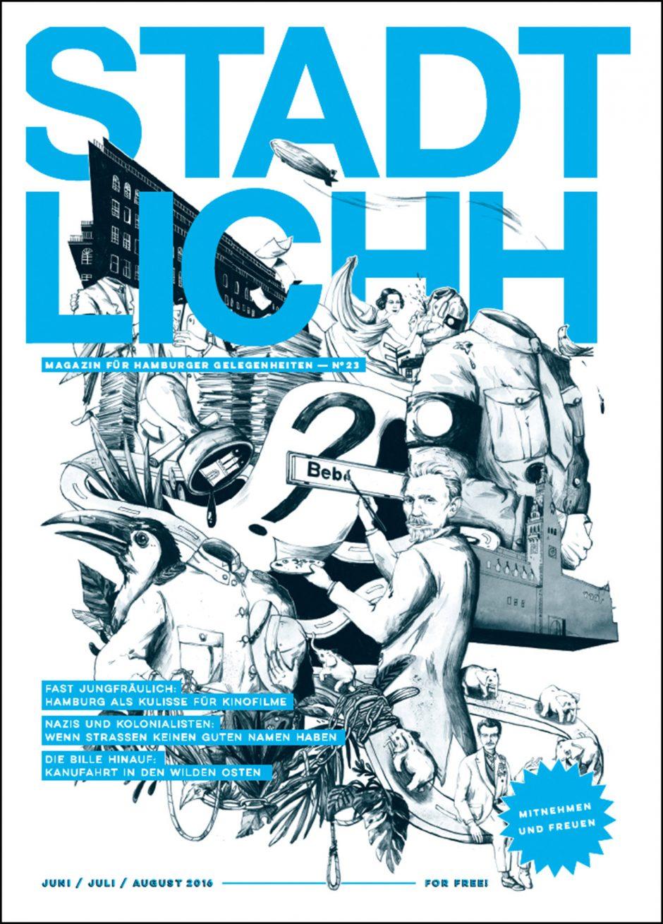 Coverillustration Stadtlichh Magazin #23