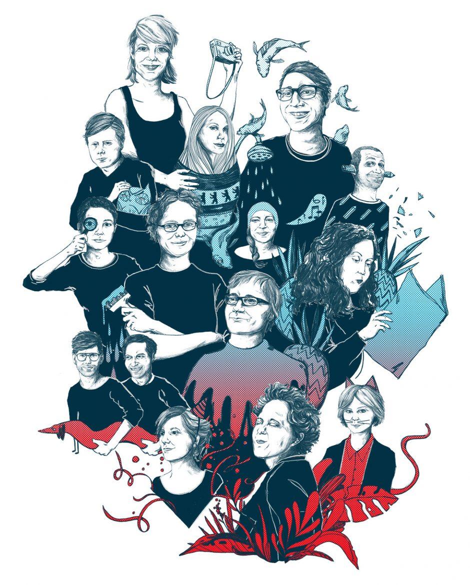 Mitarbeiter Portraits, Stadtlichh Magazin