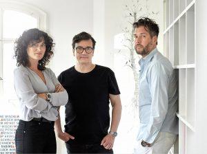 Danijela Djokic, Jürgen Späth, Martin Grothmaak (v.l.)