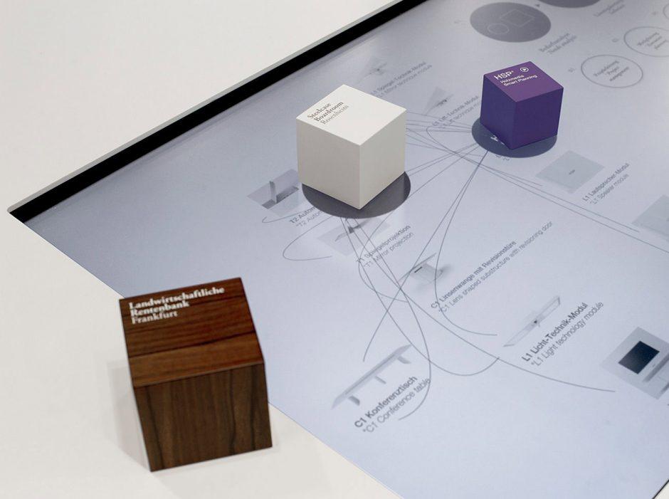 Holzmedia – Interaktiver Multitouch-Tisch