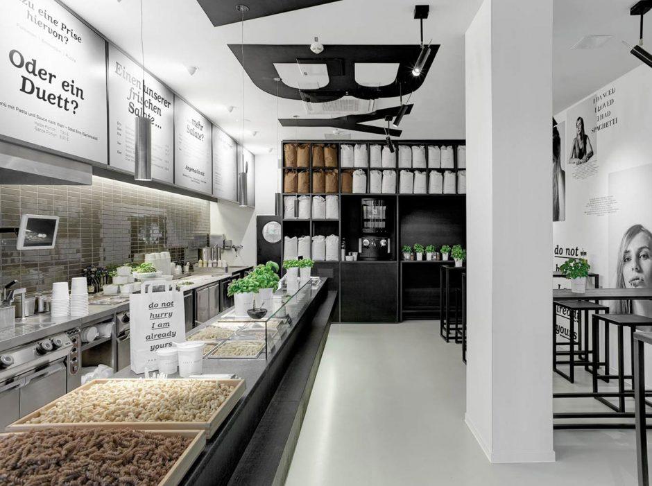 Pasta Baby – Shop Design