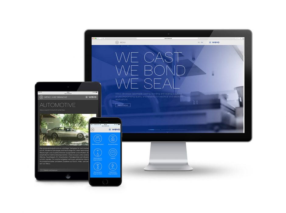Wevo Chemie – Corporate Website