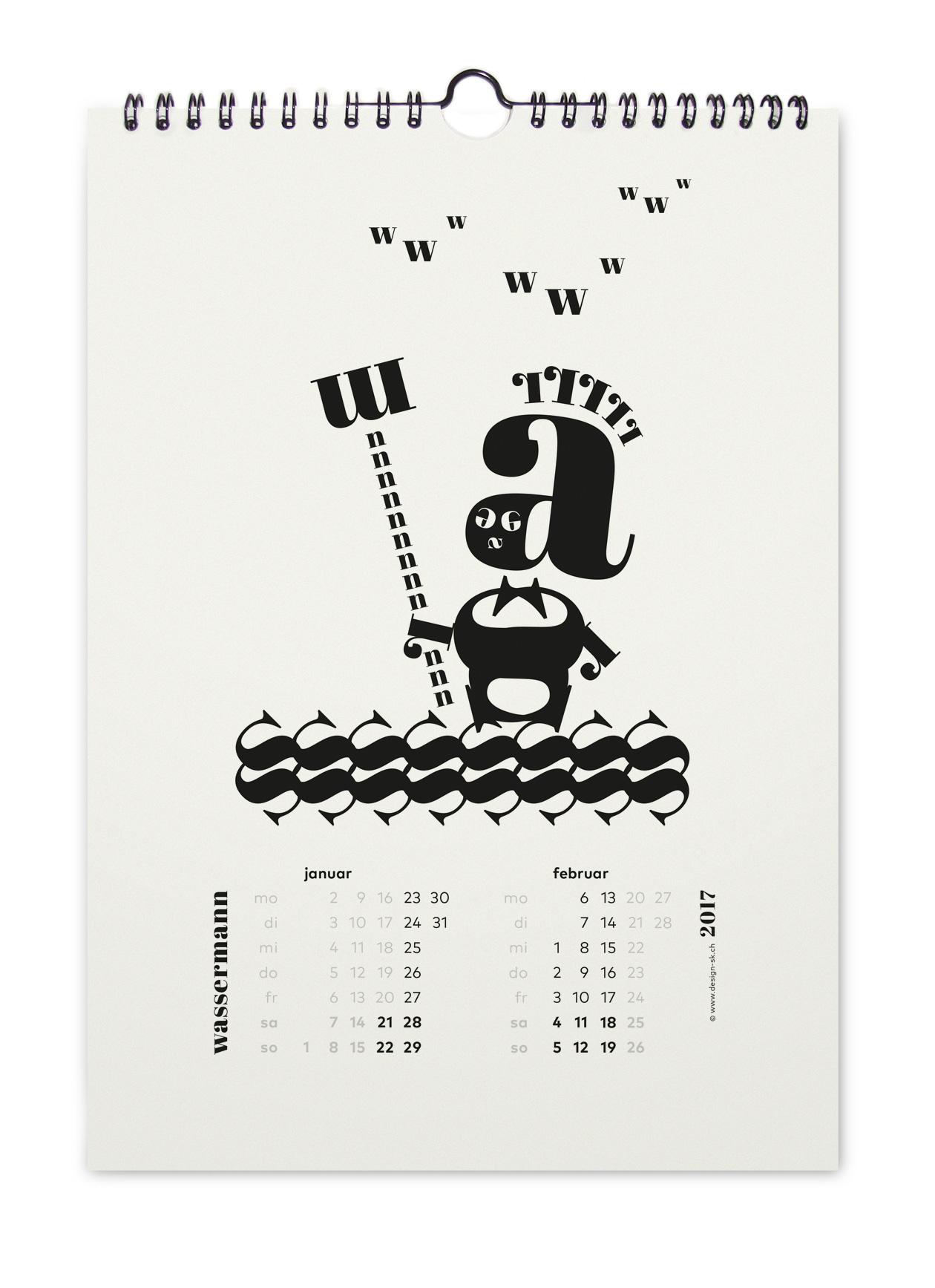 kalender_sternzeichen_2017_design_sk_wassermann_winterthur