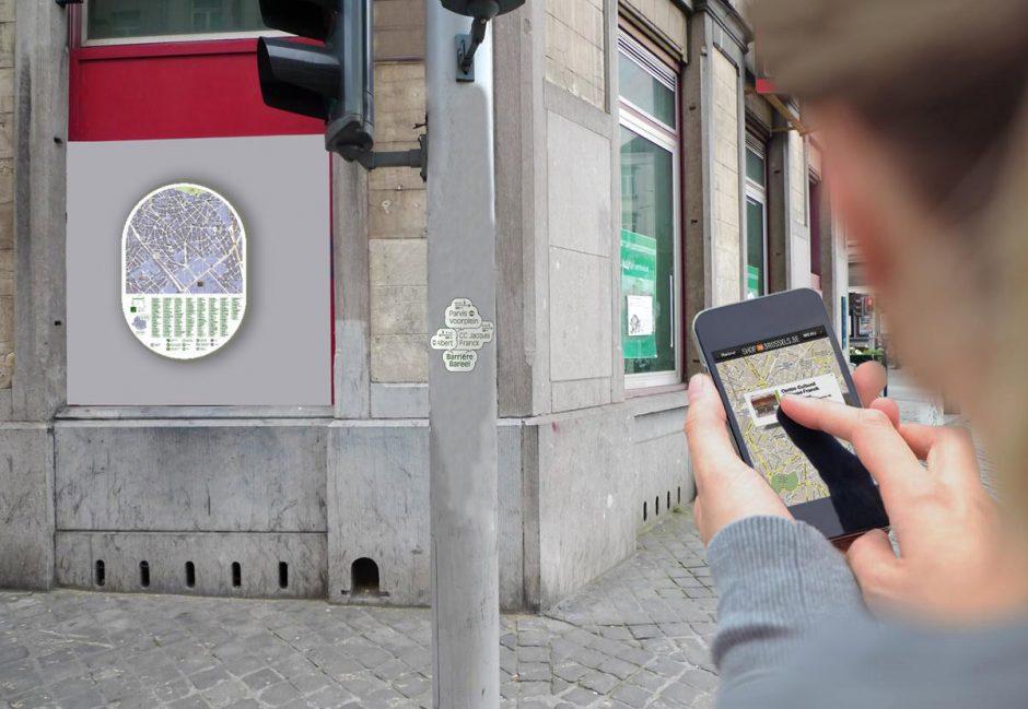 Pierre Huyghebaert betreibt in Brüssel das Studio Speculoos, das sich hauptsächlich auf Signaletik, Wegeleitsysteme und digitale Kartografie spezalisiert hat. Huyghebaert ist aber auch einer der Protagonisten des Kollektivs OSP, das im Open-Source-Modus an frei zugänglichen Gebrauchsschriften wie z.B. der Belgica-Belgika arbeitet