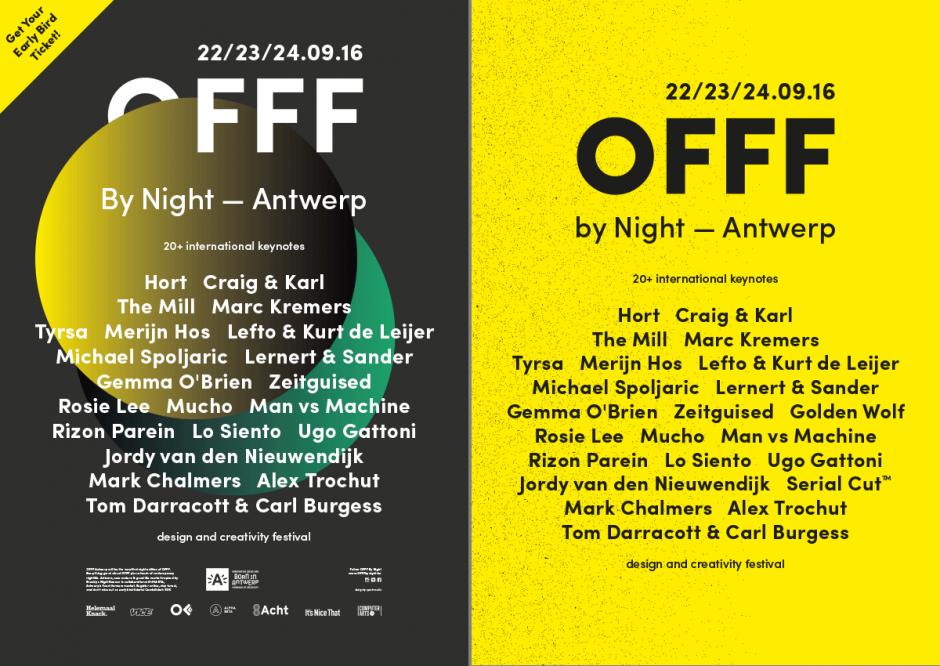 Die Grafik-Designerin Stephanie Specht bekam 2016 nicht nur die Gelegenheit, sich als Sprecherin auf dem Kreativ-Festival OFFF by Night zu präsentieren, sie durfte sich auch kräftig in allen Facetten des Event-Designs austoben.