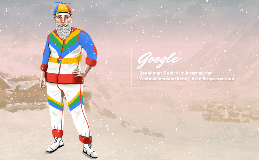 Weihnachtsmann: Google