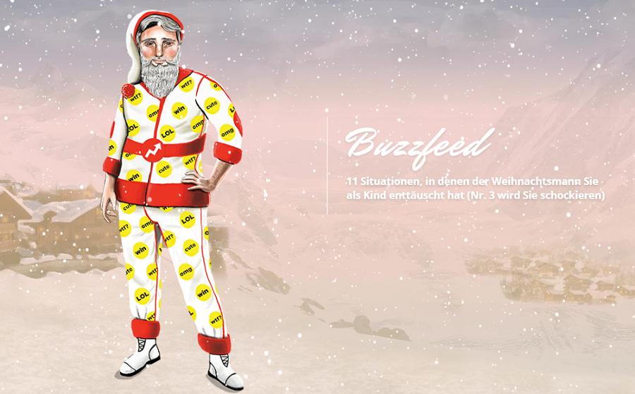Weihnachtsmann: Buzzfeed