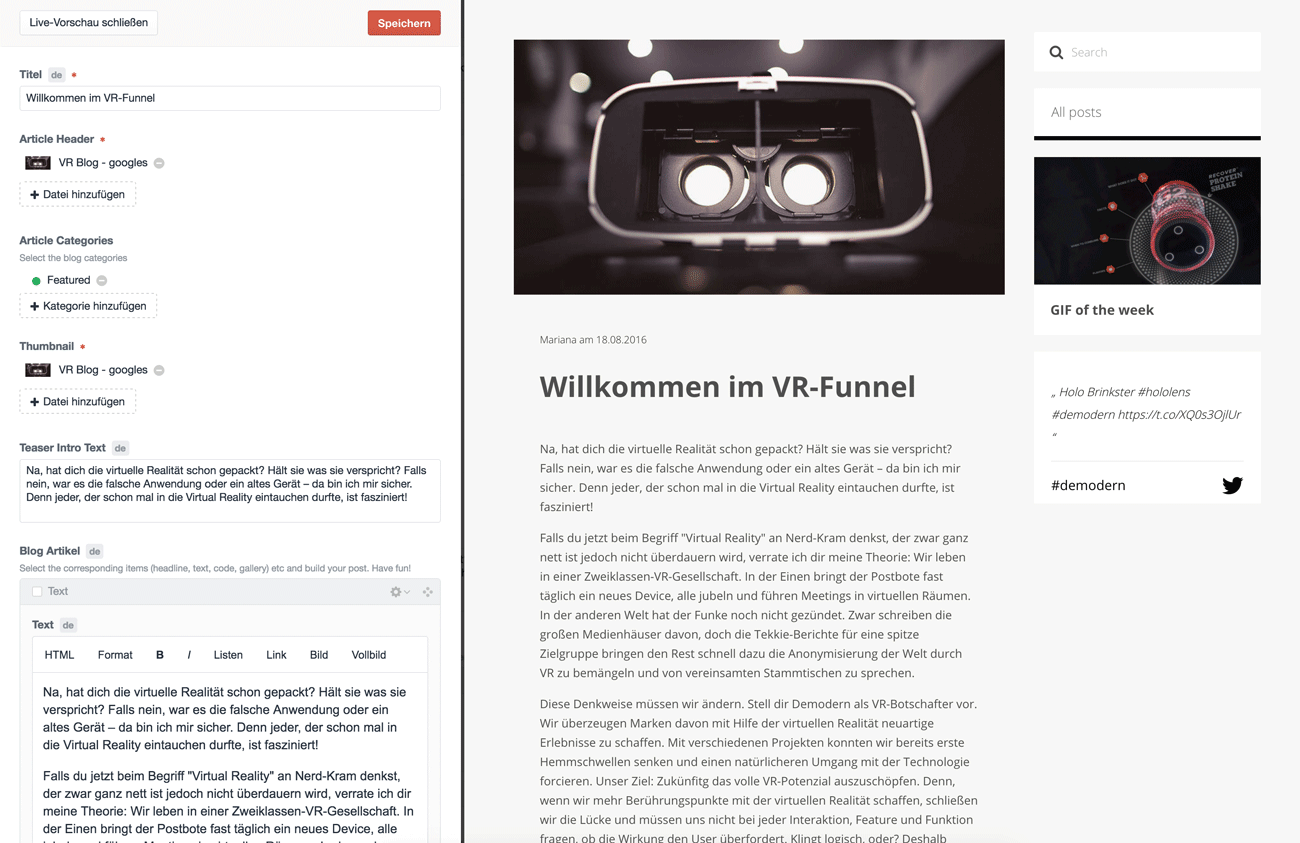 wordpress-alternative-craft-2-vorschau