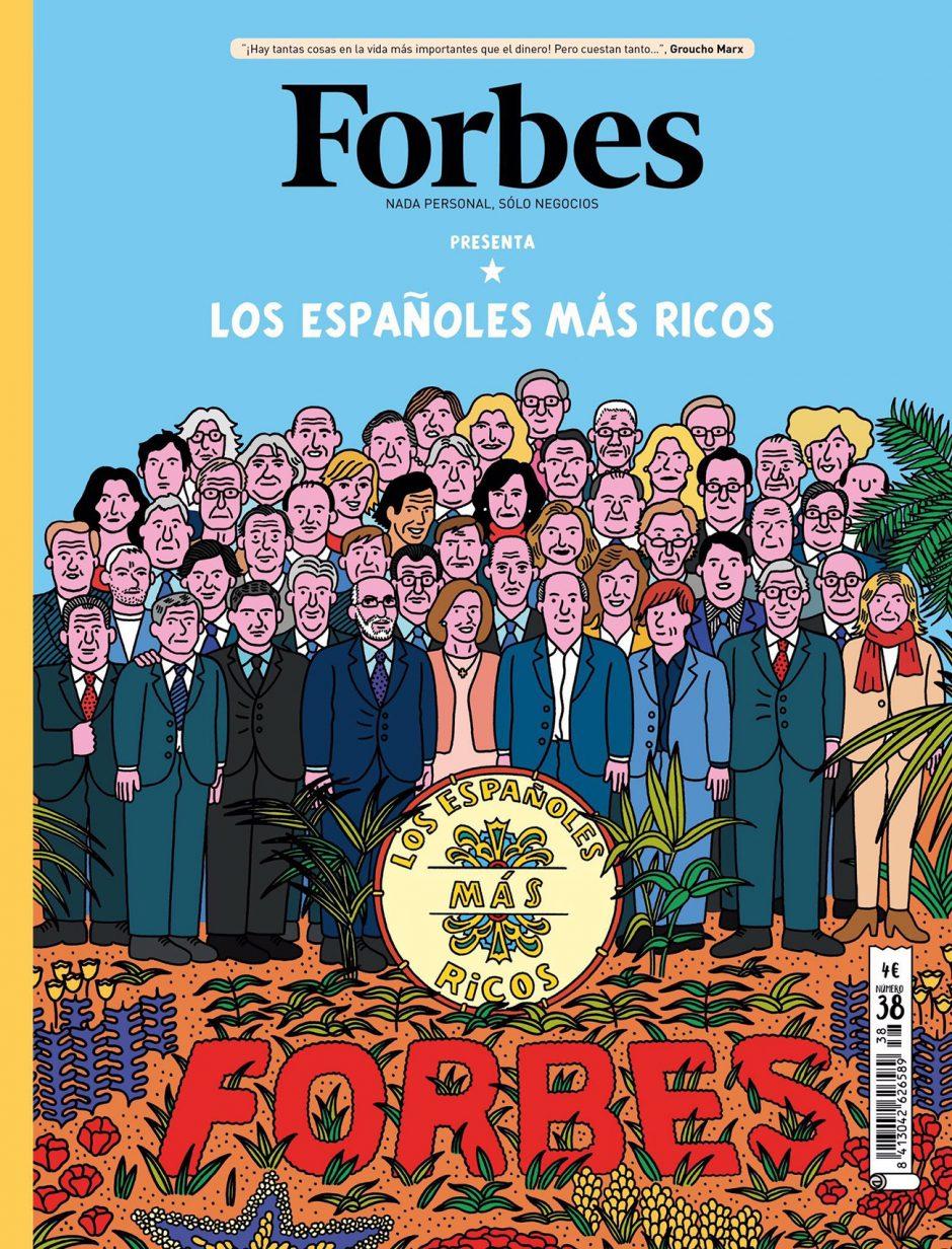 Hier sind sie, die reichsten Spanier, präsentiert im Comic-Stil von Alexis Nolla. http://cargocollective.com/alexisnolla