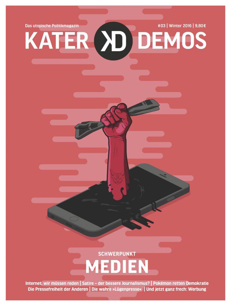 Der 22jährige Designer Oliver Schumacher aus Köln rief hier die Revolution aus. www.dosdesign.de