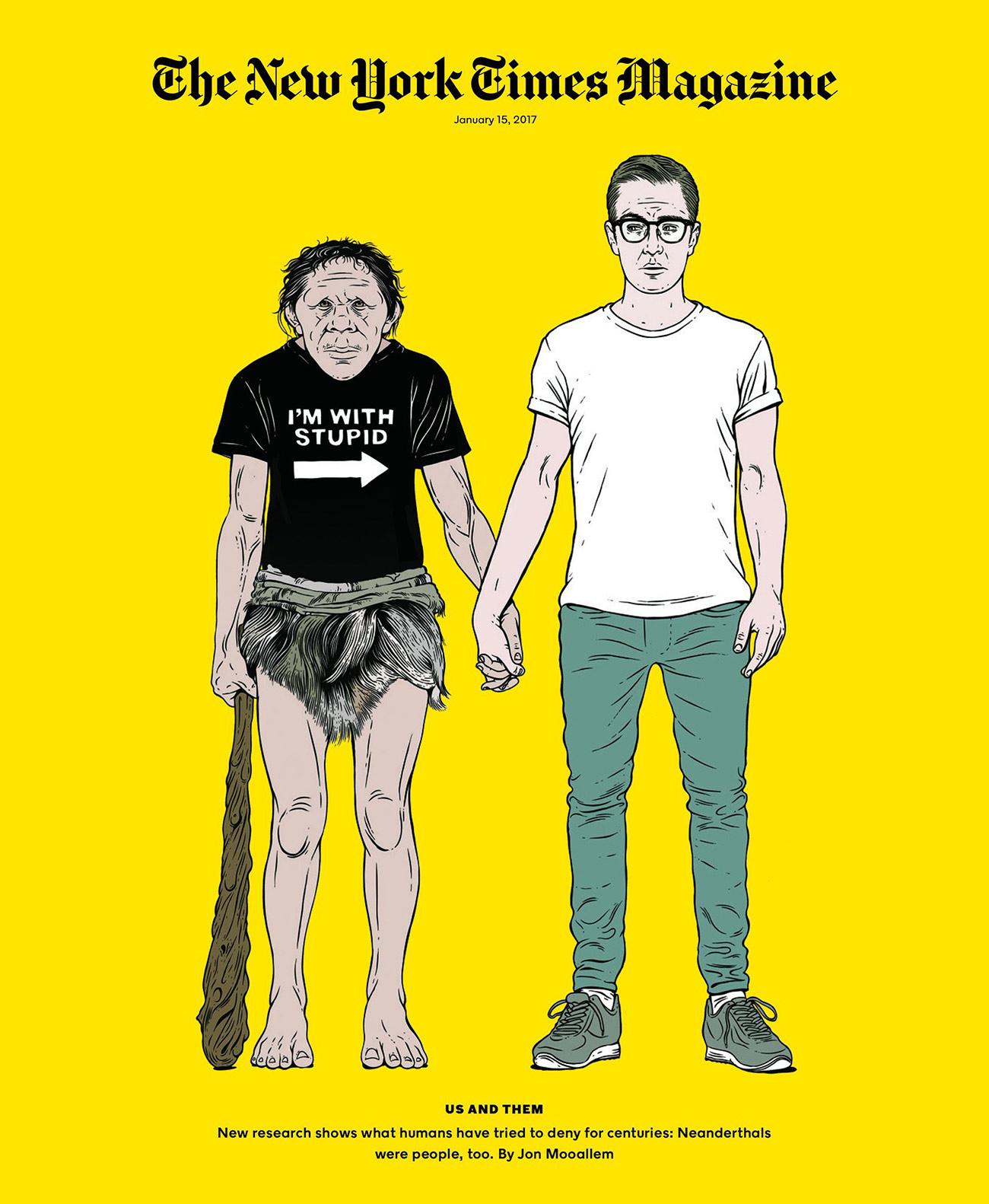 Wir und der Neandertaler – in Szene gesetzt von Louise Zergaeng Pomeroy. www.louisezpomeroy.com
