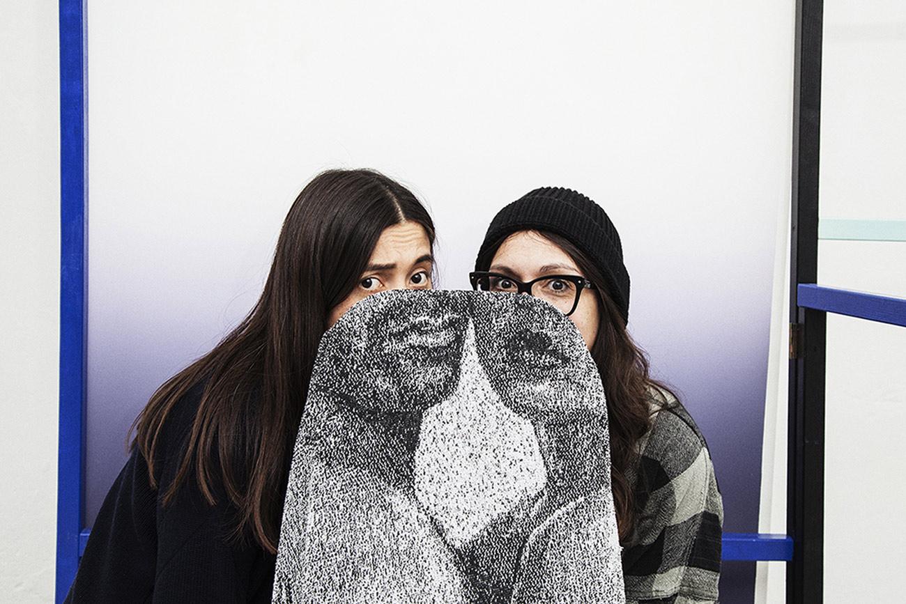 Rebecca Butzlaff und Daniela Milosevic