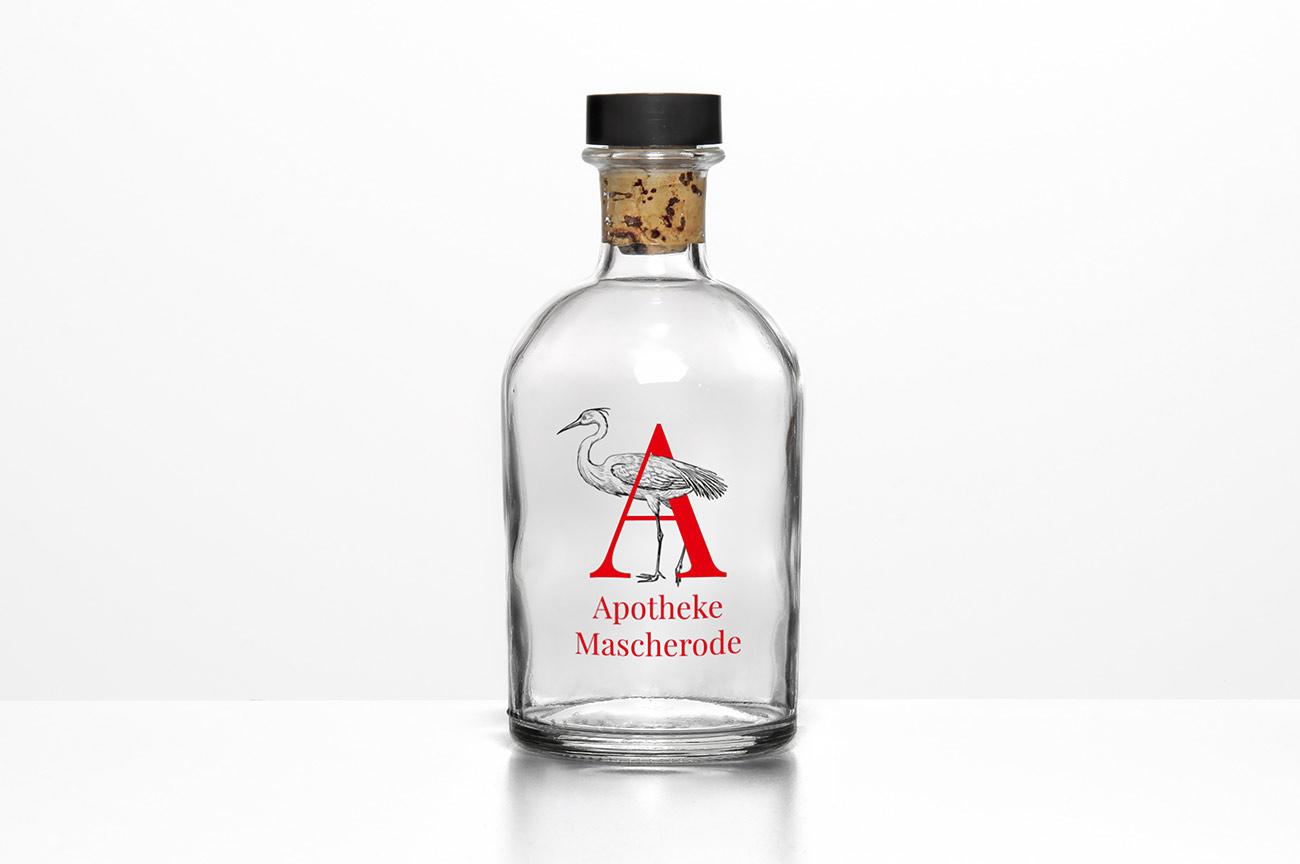 Flaschendesign Apotheke