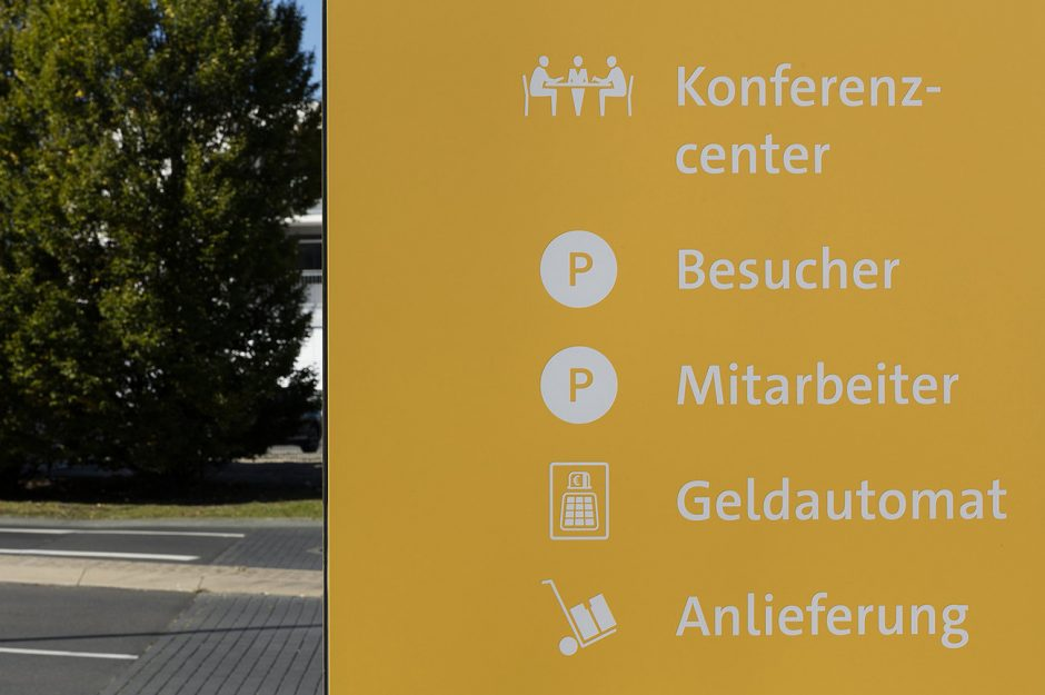Orientierungssystem VW FS AG