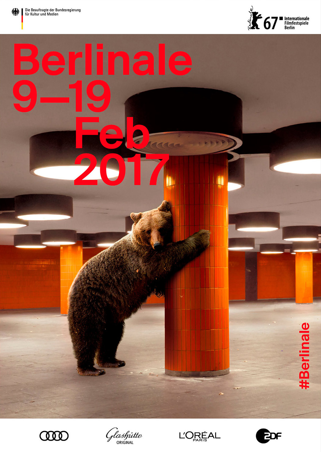 Festivalplakat zur Berlinale 2017