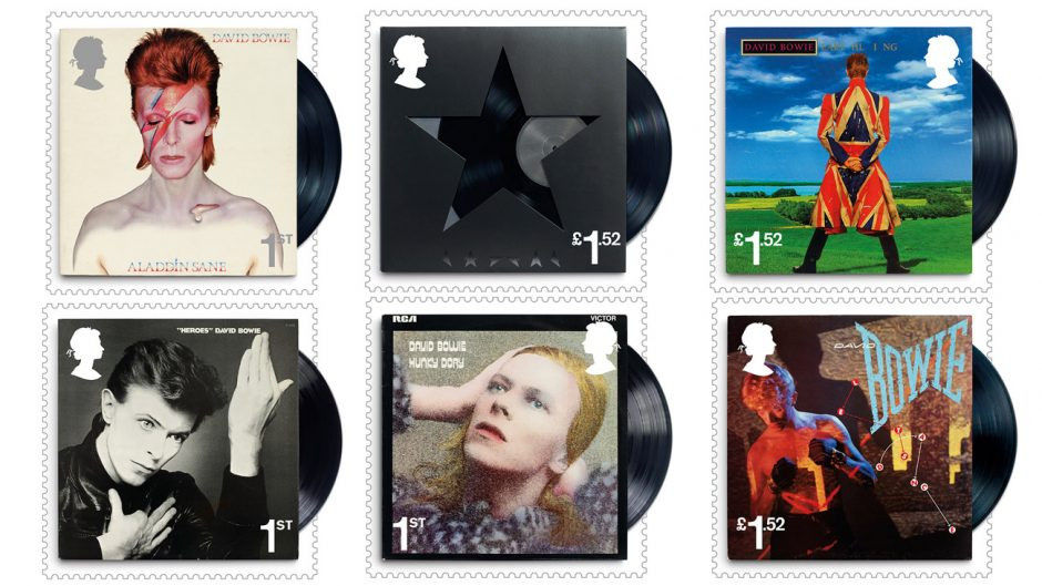 David Bowie Stamps