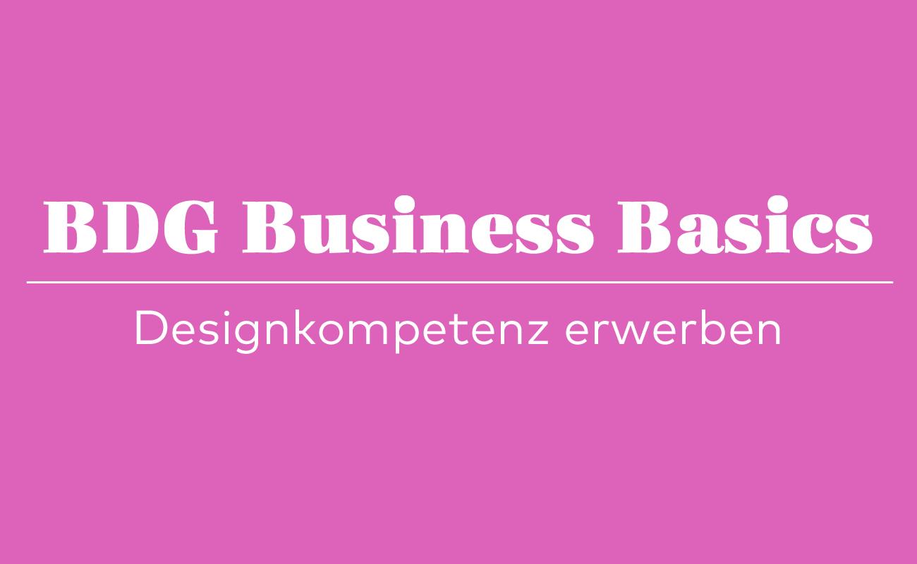 BDG, Design, Designkompetenz